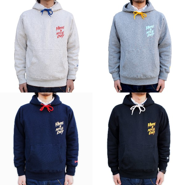 "【DARGO】""HAVE A NICE DAY"" Pull Over Hoodie"