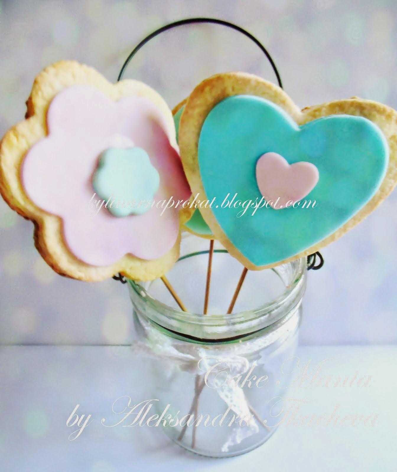 Сувенирное печенье
