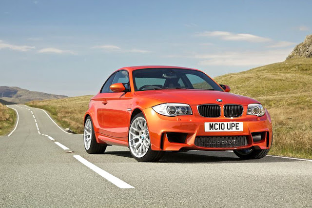 2011 BMW 1 series M coupe Front Exterior