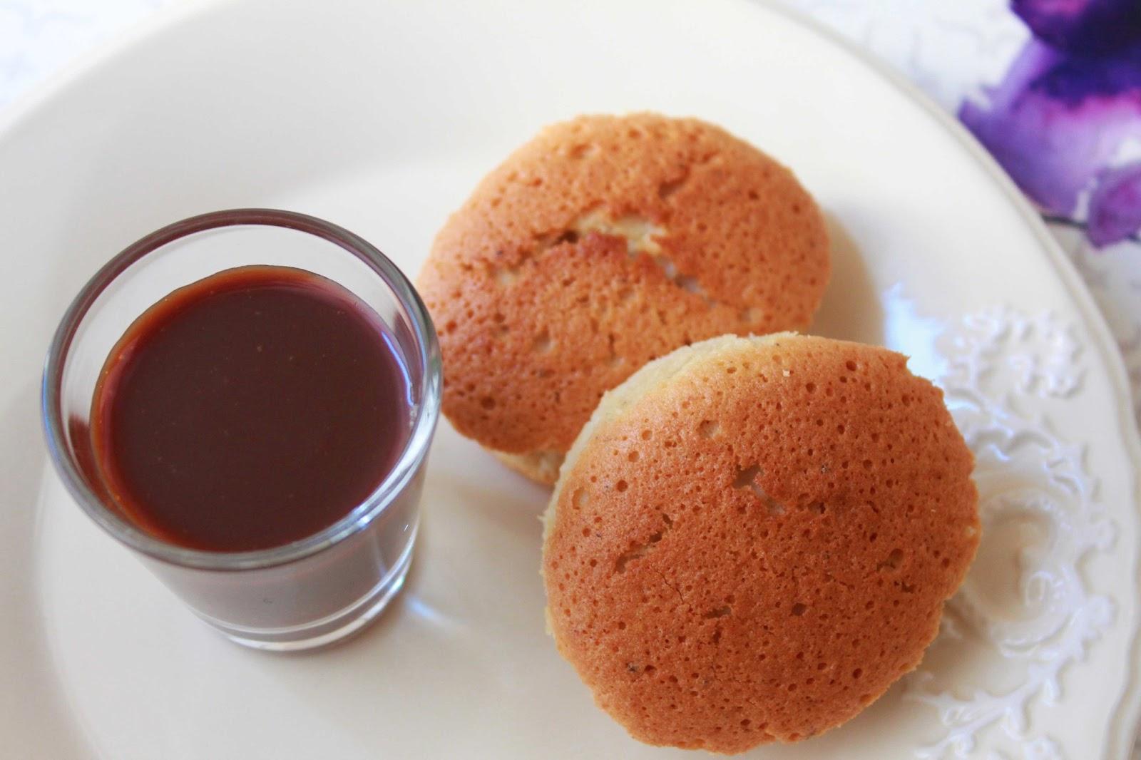 Financier (mekik kek) ve çikolatalı karamel tarifi