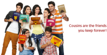 Nisha Aur Uske Cousins hindi tv serial poster