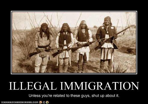 Are illegal immigrants in favor of illegal immigration? Surely not.