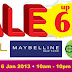 Only Beauty Sales: L'oreal Paris, Maybelline, Garnier: 3 - 6 Jan @ Centro Mall, Klang