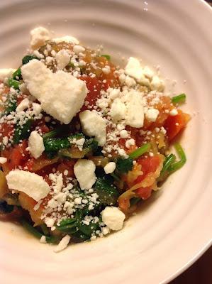 Mediterranean Spaghetti Squash