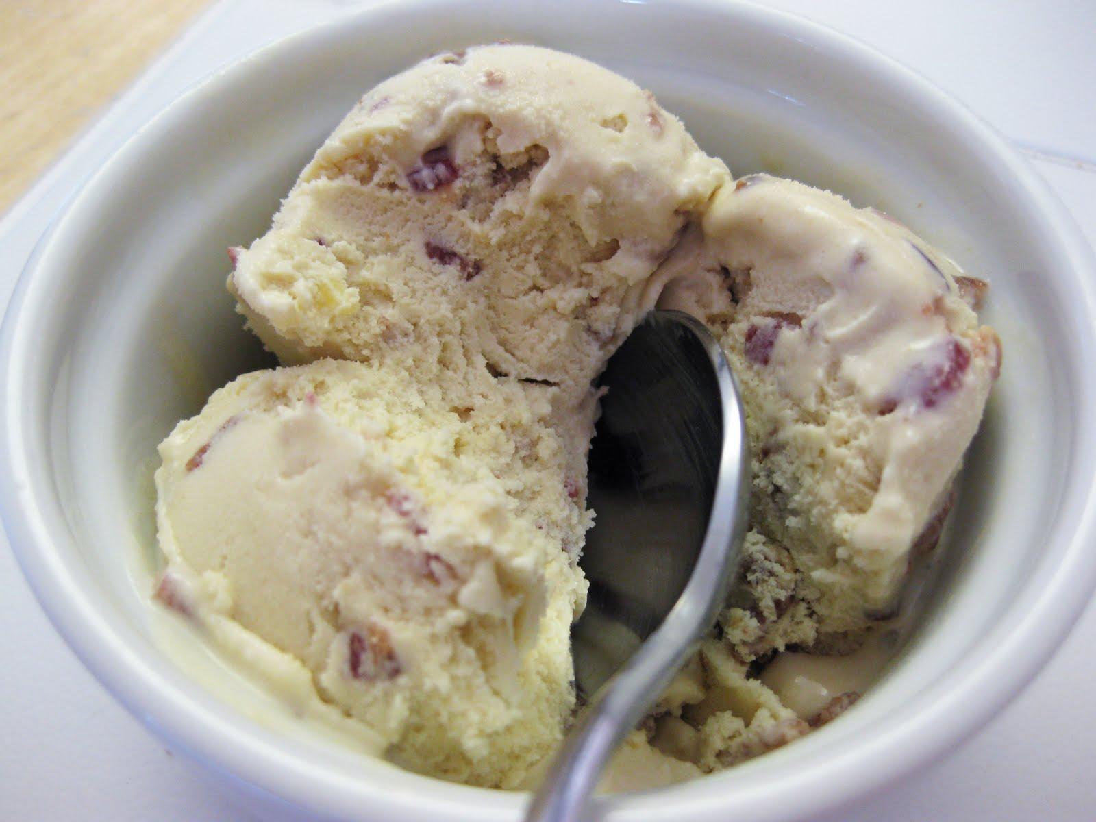 Candied Bacon Ice Cream Recipe — Dishmaps