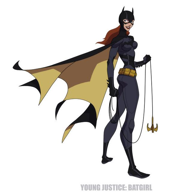 Batgirl young justice