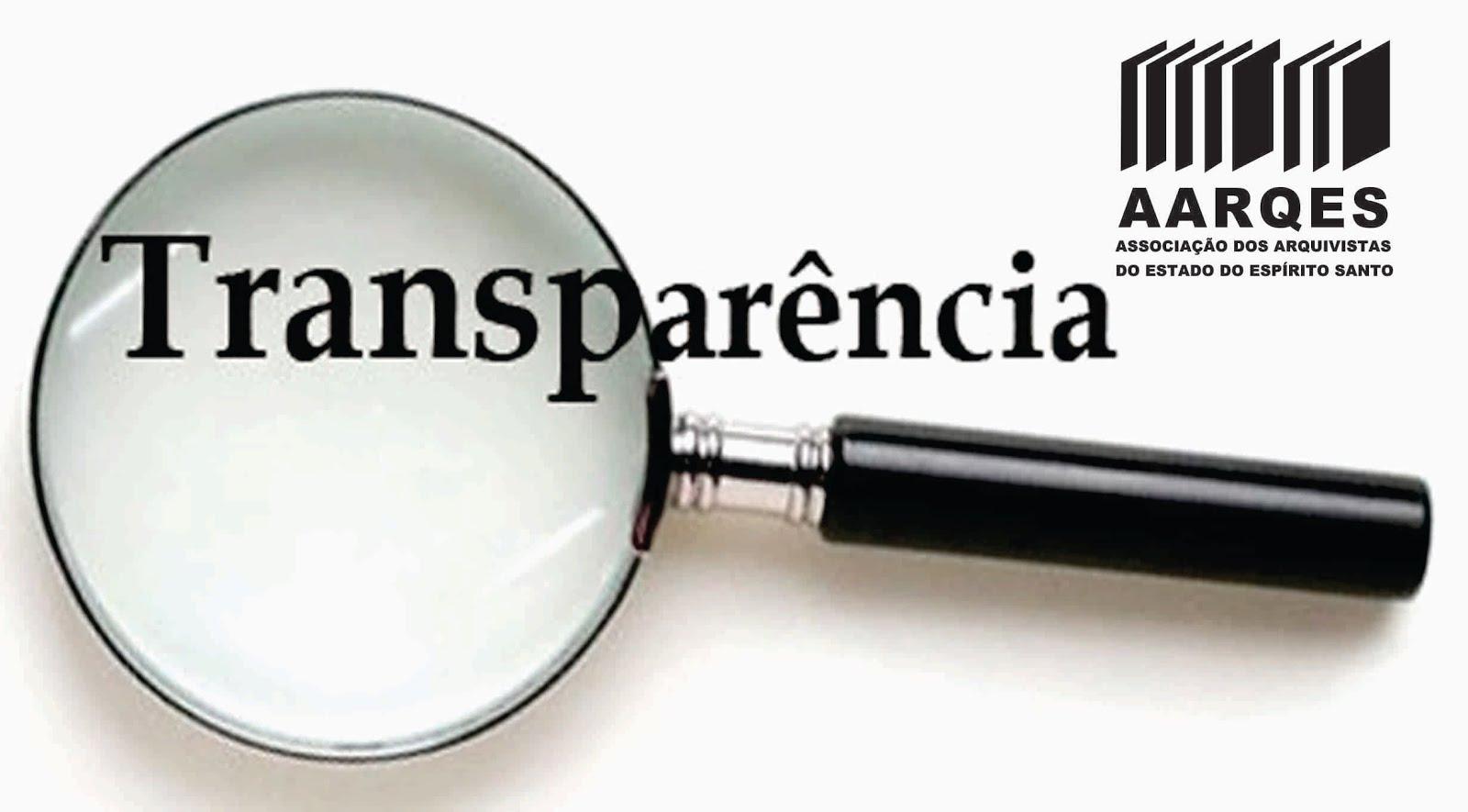 Transparência AARQES