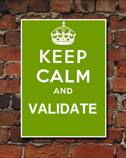 validating date Validation definition, to make valid substantiate confirm: time validated our suspicions see more.