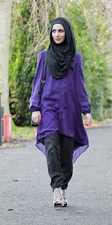 Foto Trend Baju Muslim Terbaru 2014 Model Jumpsuit Resmi