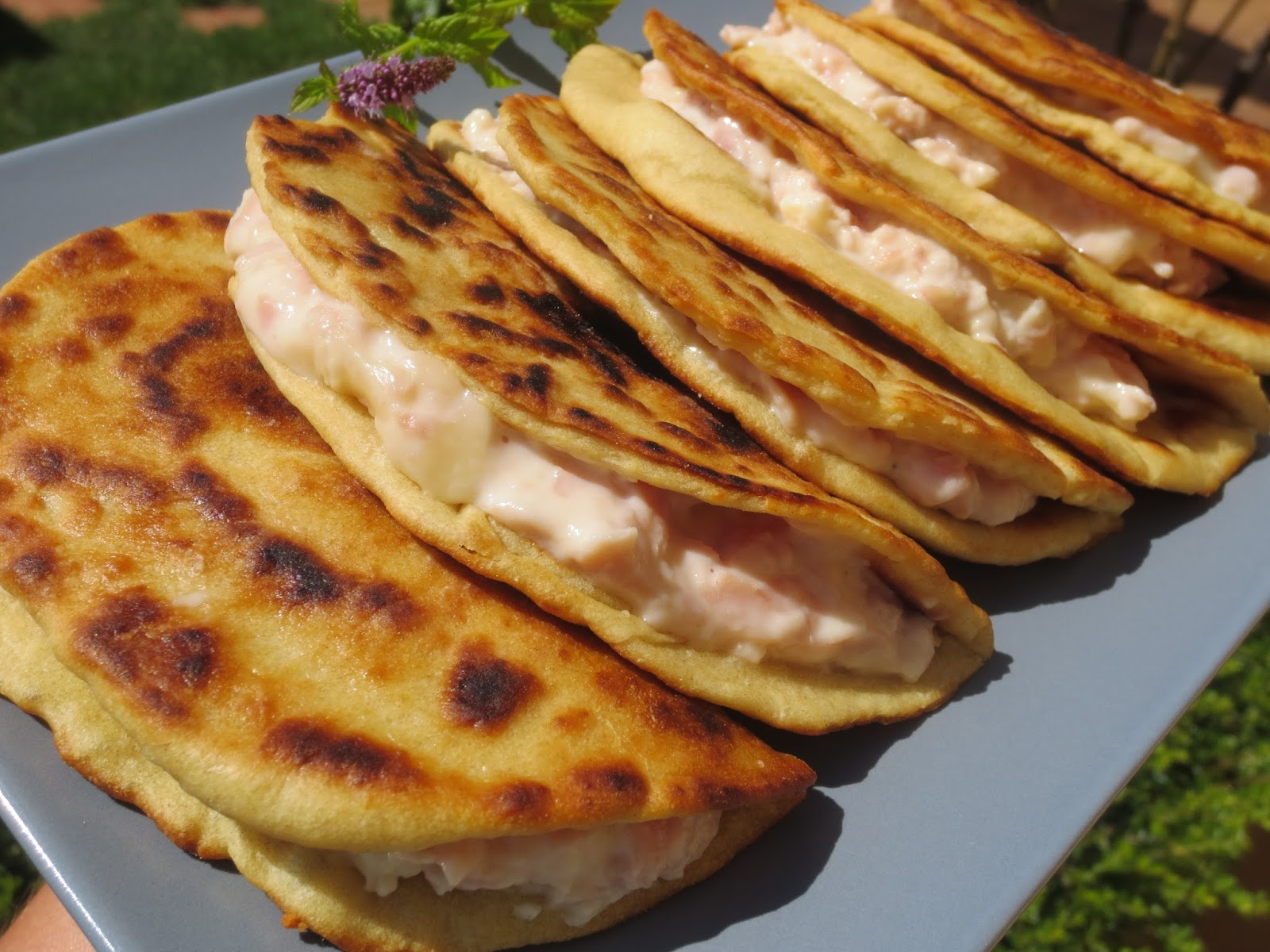 Piadinas de jam n y queso thermomix for Comidas rapidas y economicas
