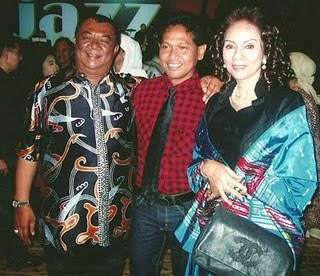 Obbie Messakh & Gubernur Sumatra Utara beserta Istri