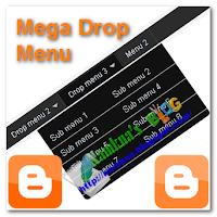 Dropmenu style black for blogger - Menu xổ dọc với 2 cột sub cho blogger