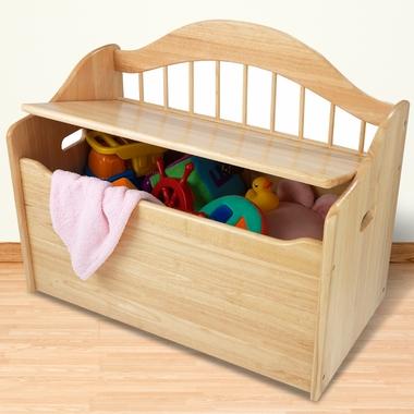Multinotas caja de juguetes para ni os - Cajas de madera para guardar juguetes ...