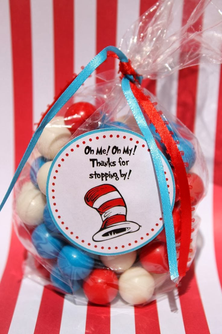 Cat In The Hat Goodie Bag Ideas