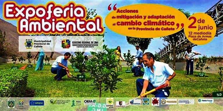 Expoferia Ambiental en Cañete