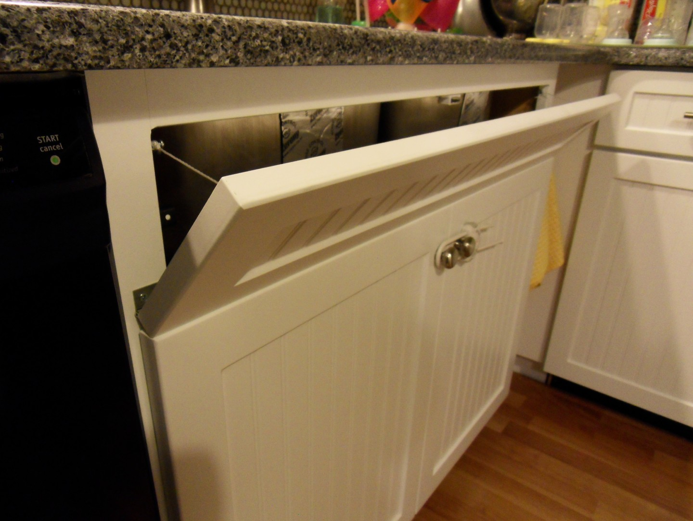 Recessed Kitchen Cabinet Pulls