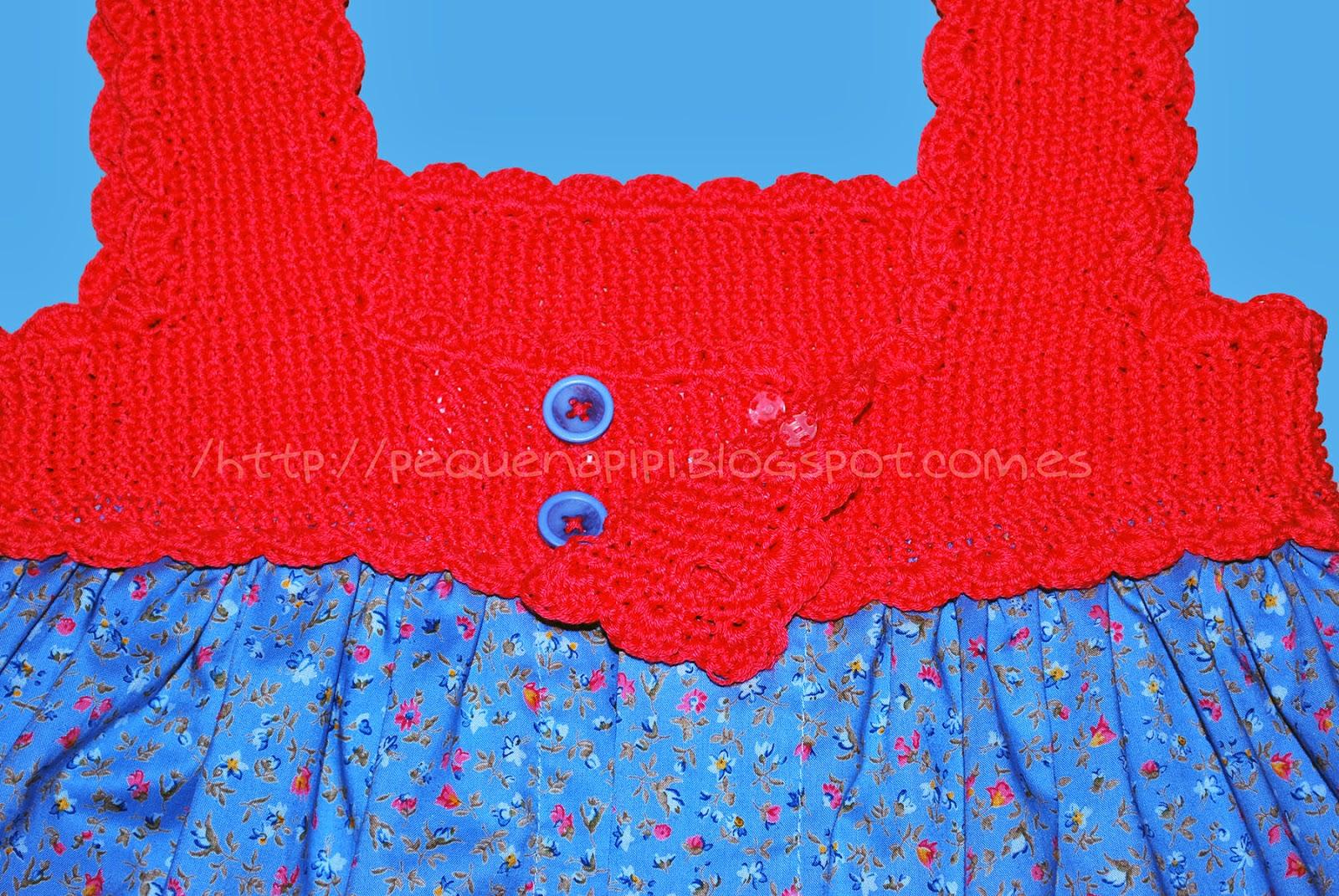 vestido - Vestido con canesu de punto arroz DSC_0253