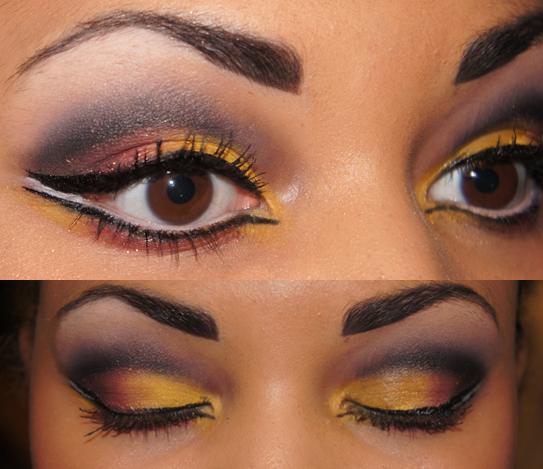 makeup natural wild  brushes uk eyeliner academu makeup mua eyeshadows tutorial white nyc makeup