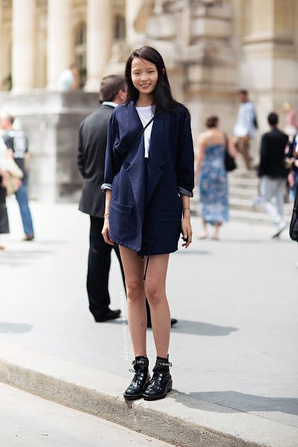 Xiao Wen Street Style