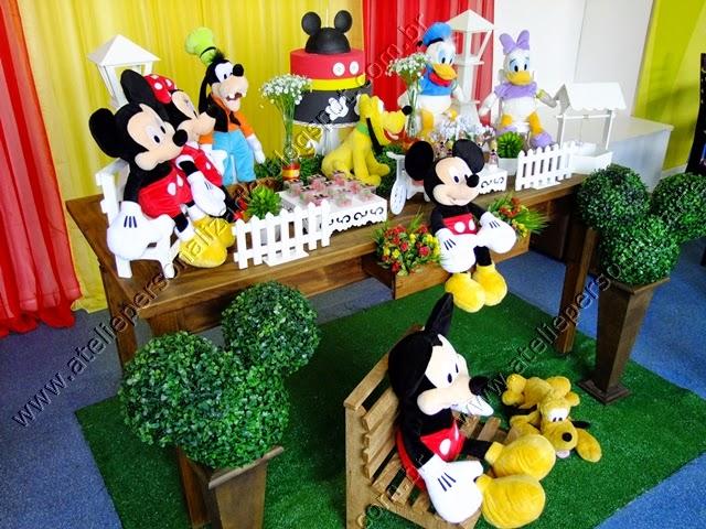 Decoração festa Mickey provençal Porto Alegre