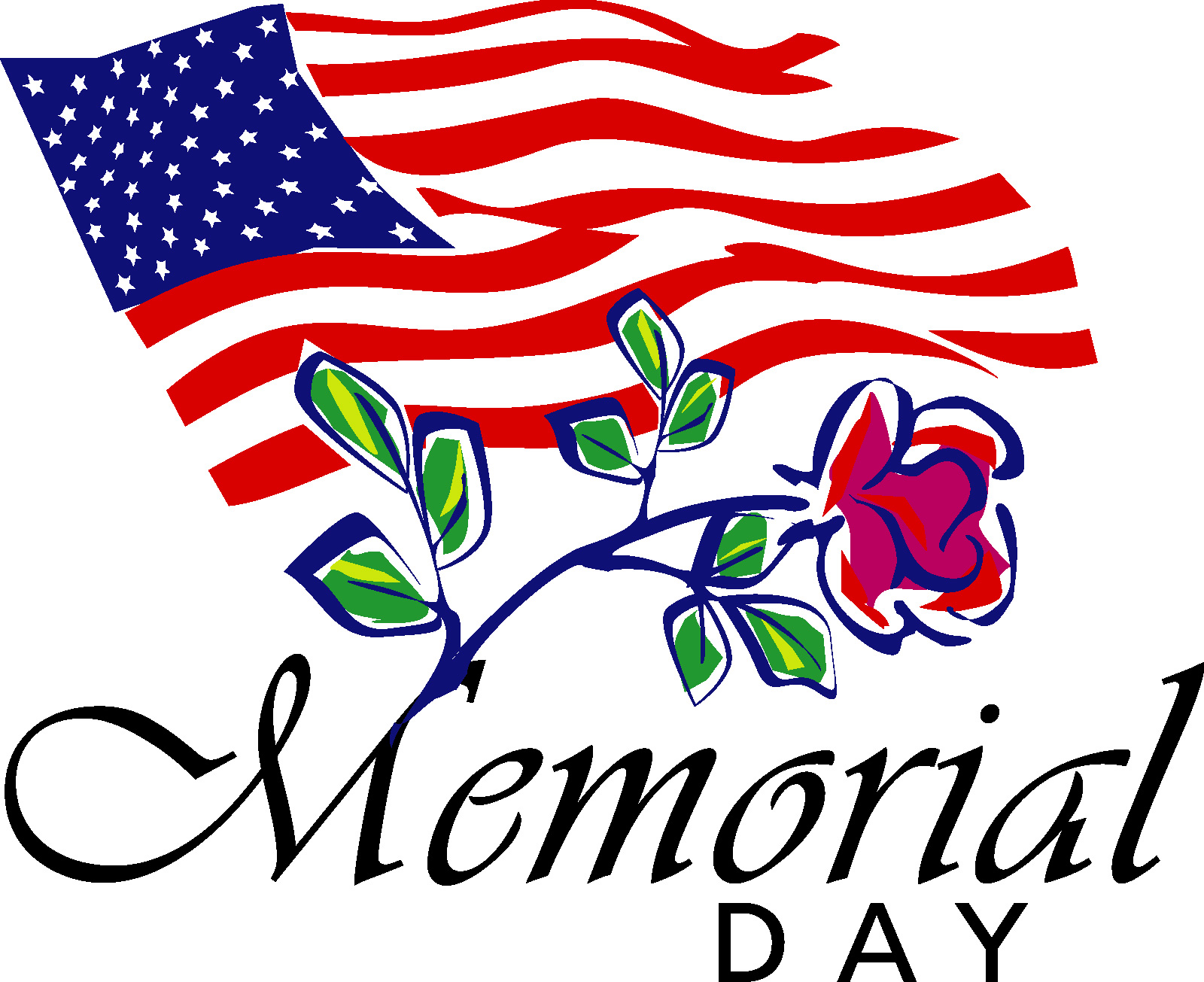 Happy Memorial Day Clip Art