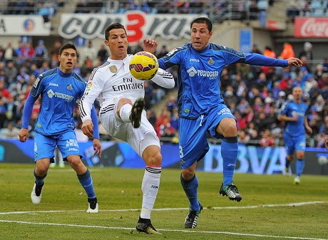 Video Gol Getafe vs Real Madrid 0-3