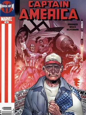 House of M: Captain America #10