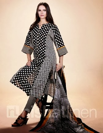 More Exclusive Lawn Collection 2014