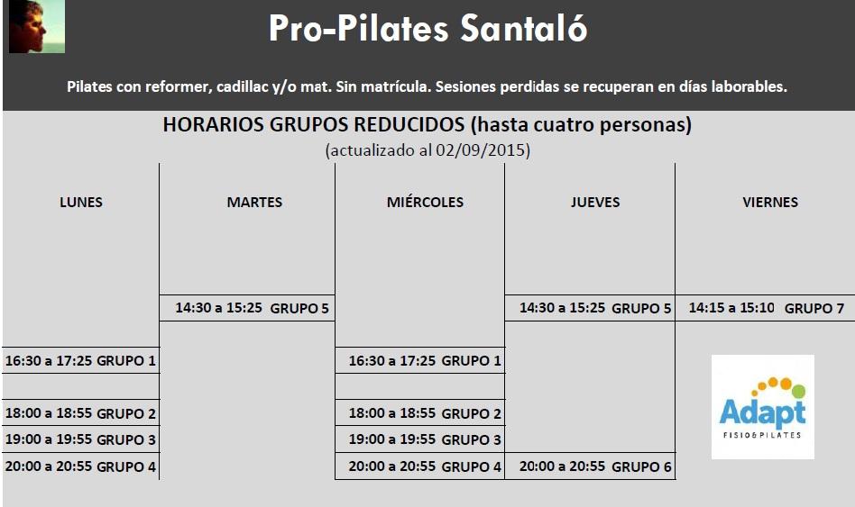 pro pilates consciente barcelona entrada 24 horarios On grupos cupos y horarios udea