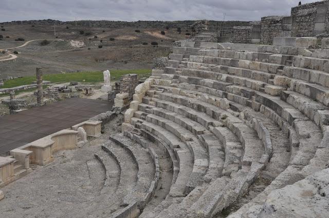 CUENCA CON NIÑOS: Las ruinas romanas de Segóbriga