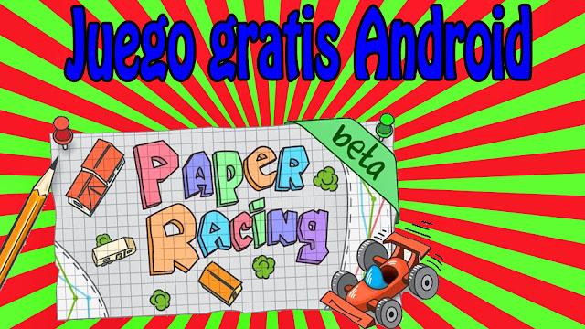 Juego de carreras Paper Racing