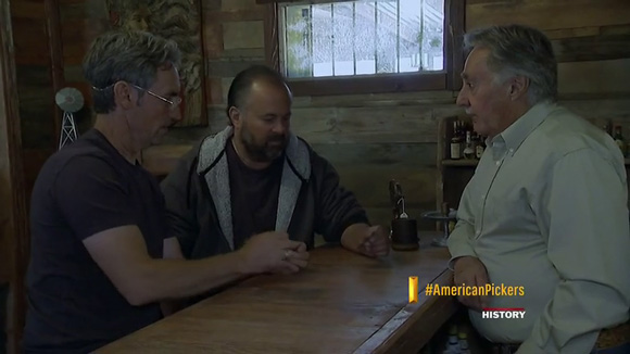 american pickers first episode