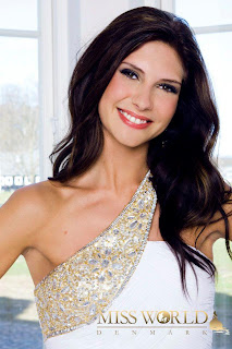 Miss World Denmark 2012 Cecilie Arvidsen