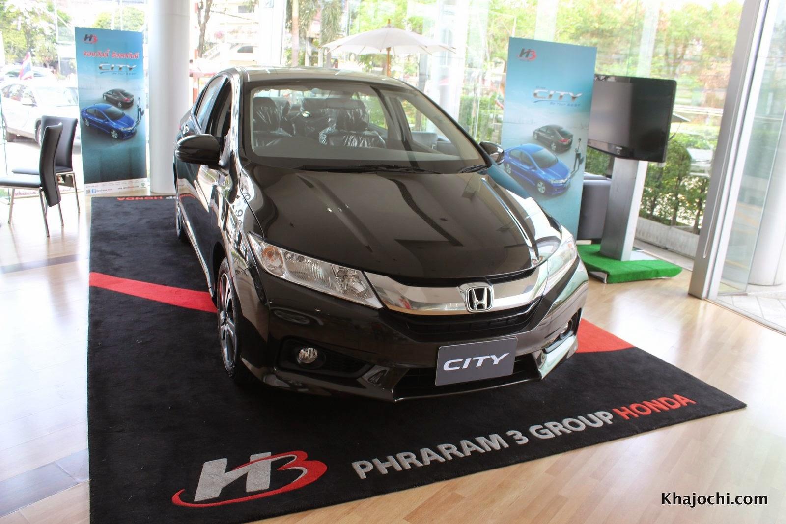 รีวิว: honda city 2014 รถรุ่นเล็กที่ไฮเทคขั้นสุดยอด
