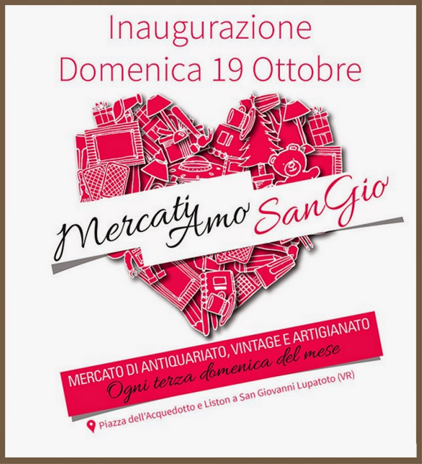 Trovarobando ottobre 2014 for Mercatini antiquariato verona