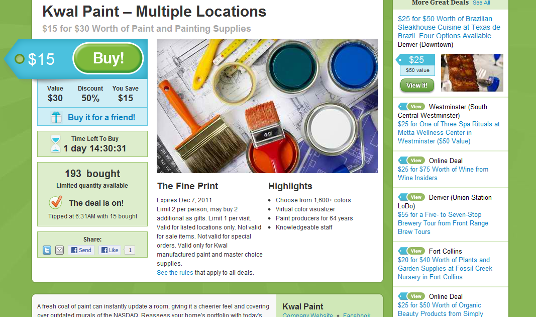 kwal paint groupon get 50 off house painting tips