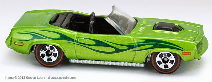 Hot Wheels Plymouth Barracuda