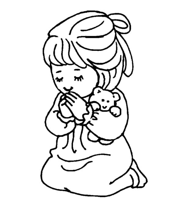 Girls Coloring Pages For Kids Family People and Jobs Coloring