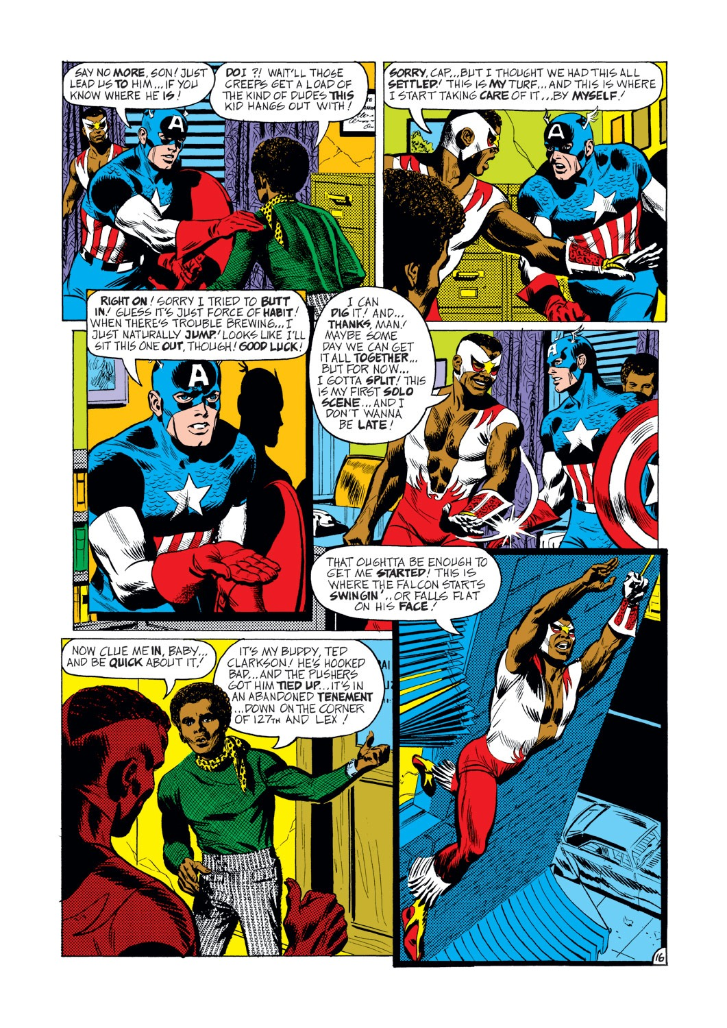Captain America (1968) Issue #144 #58 - English 17