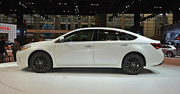 2018 toyota avalon redesign auto toyota review. Black Bedroom Furniture Sets. Home Design Ideas