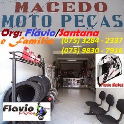 """MACÊDO """"Moto Peças"""""""