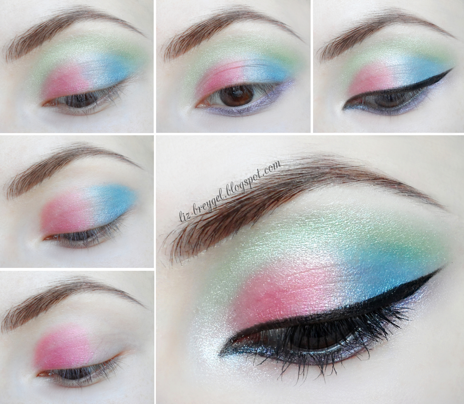 colorful makeup tutorial liz breygel beauty angel beauty uk cosmetics