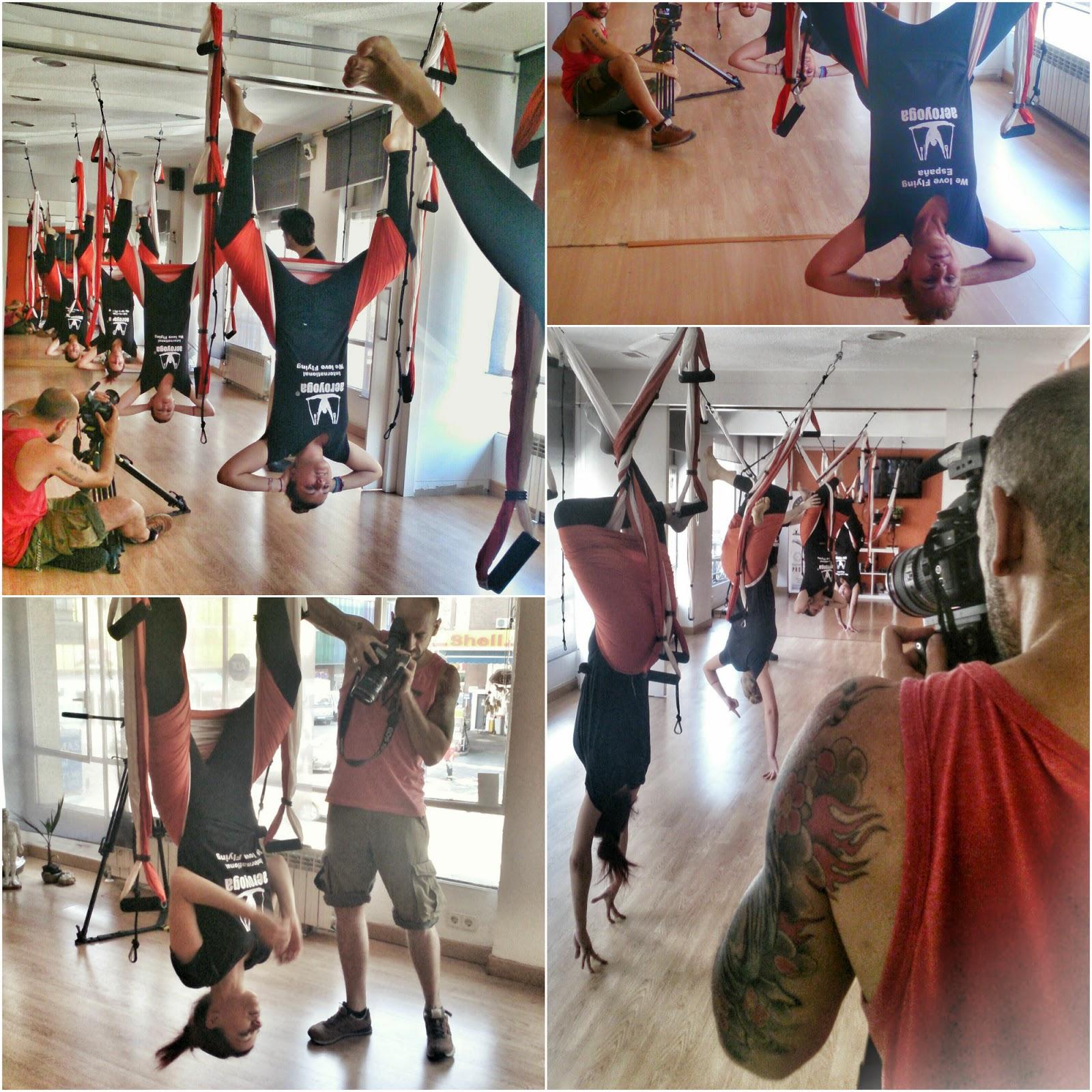 aero yoga aereo trapecio