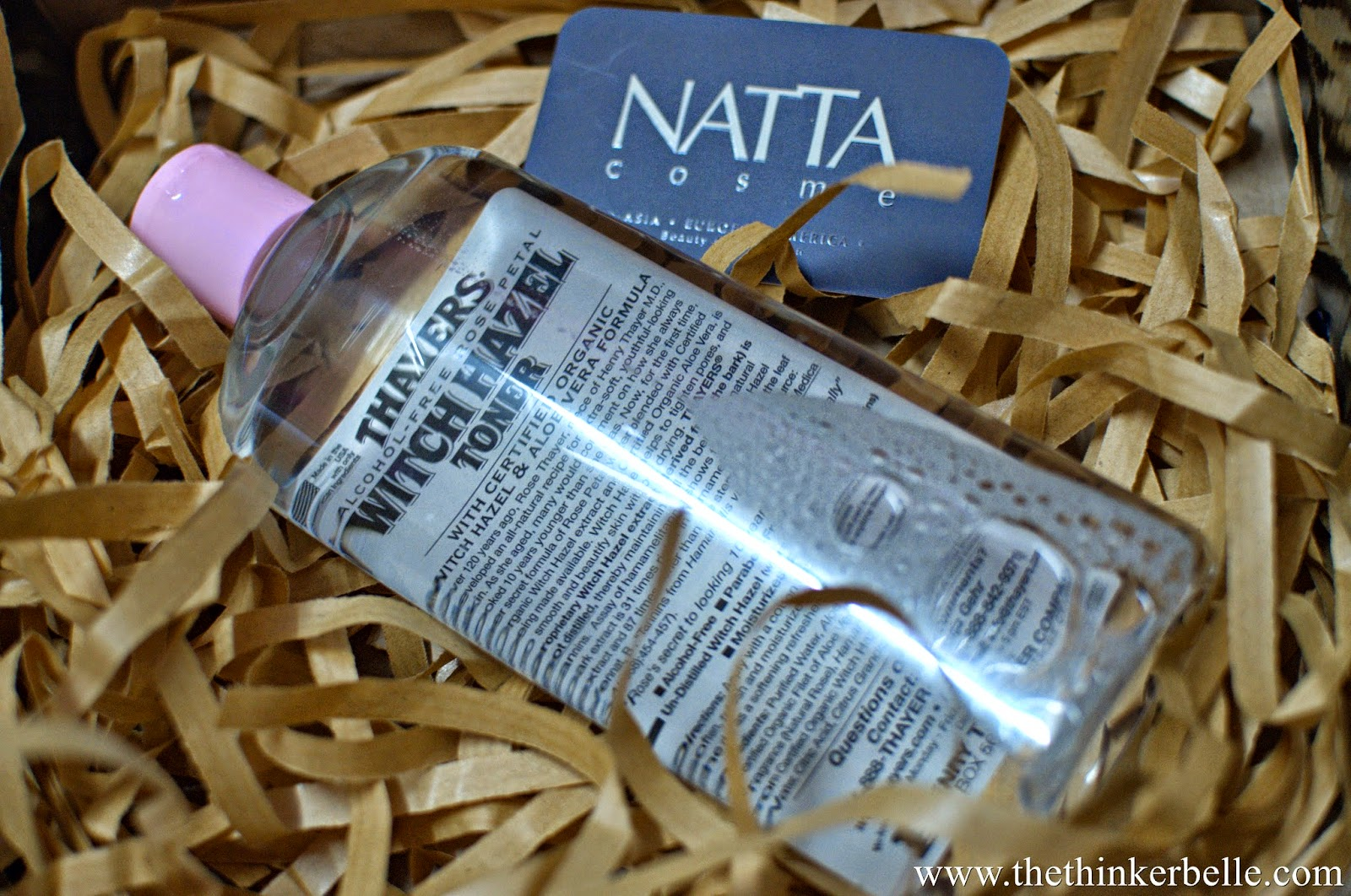 thayers toner rose petal witch hazel review