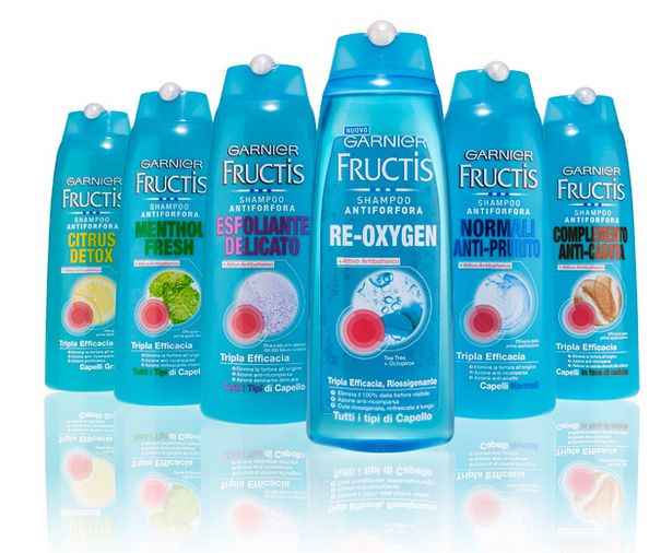 garnier fructis – lo shampoo della nazionale italiana