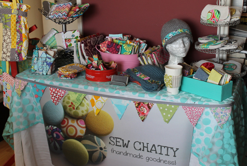 Sew chatty a few craft show tips for How to set up a booth at a craft show