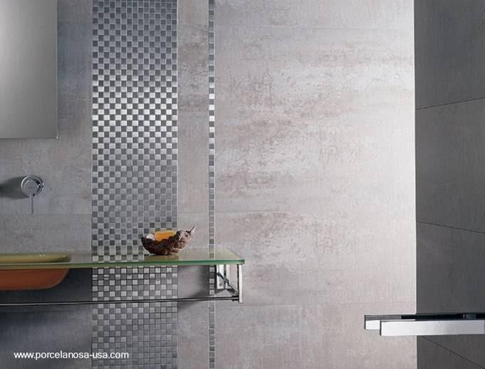 Arquitectura de casas revestimientos para las paredes en for Revestimiento bano moderno