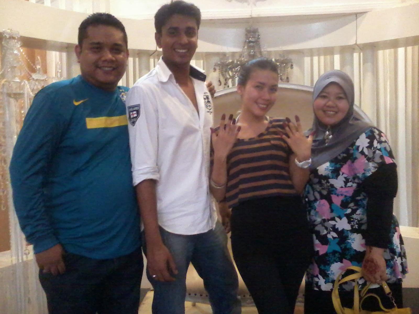 With Eira Syazira & Azad Jasmin