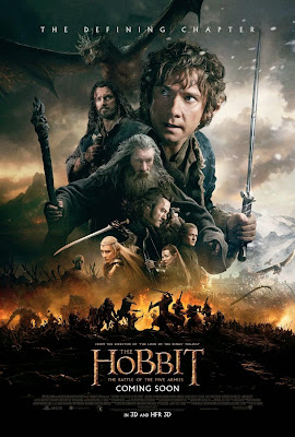 Poster Of Free Download The Hobbit The Battle of the Five Armies 2014 300MB Full Movie Hindi Dubbed 720P Bluray HD HEVC Small Size Pc Movie Only At exp3rto.com