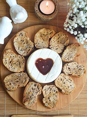 Um camembert romântico